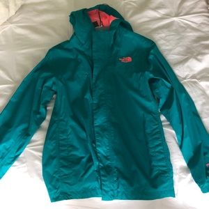 Youth North Face raincoat